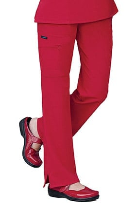 Classic Fit Collection by Jockey® Women's Tri Blend Zipper Scrub Pants