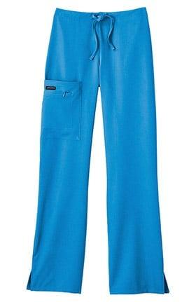Clearance Classic Fit Collection by Jockey Women's Tri Blend Zipper Scrub Pants