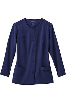 Clearance Modern Fit Collection by Jockey® Women's Snap Front Scrub Jacket