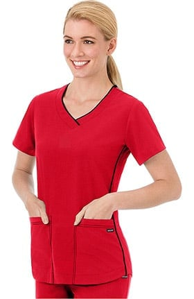 Classic Fit Collection by Jockey® Women's Sporty V-Neck Scrub Top