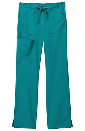 Clearance Classic Fit Collection by Jockey Women's Drawstring Cargo Scrub Pant