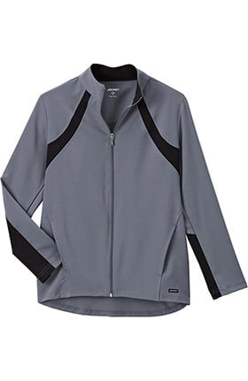 Clearance Modern Fit Collection by Jockey® Women's Athletic Warm Up Solid Scrub Jacket