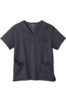 Classic Fit Collection by Jockey Unisex V-Neck Solid Scrub Top