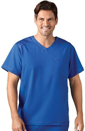Jockey® Men's Mesh V-Neck Solid Scrub Top