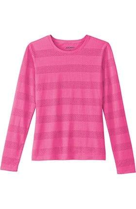 Modern Fit Collection by Jockey® Women's Burnout Long Sleeve T-Shirt