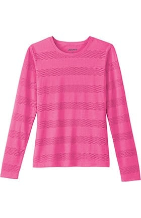 Clearance Modern Fit Collection by Jockey Women's Burnout Long Sleeve T-Shirt