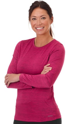 Performance Rx by Jockey® Women's Long Sleeve Dry Comfort Solid Underscrub T-Shirt