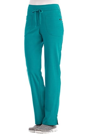 Clearance Classic Fit Collection by Jockey® Women's Wide Elastic Waistband Scrub Pant