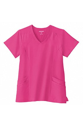 Clearance Performance Rx by Jockey® Women's Make Your Move V-Neck Solid Scrub Top