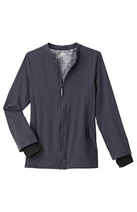 Performance Rx by Jockey® Women's REFLECTech™ Zip Front Solid Scrub Jacket