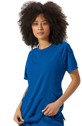 Modern Fit Collection by Jockey Women's Comfort Crew Neck Solid Scrub Top