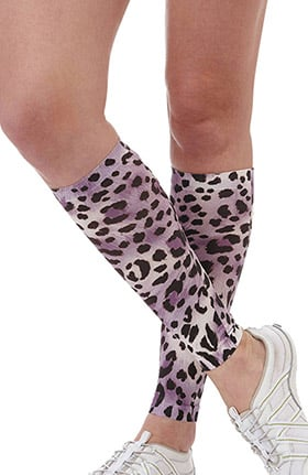 Clearance A.M.P.S Unisex 15-20 mmHg Printed Calf Compression Sleeve