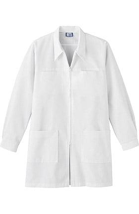 """Clearance META LabWear Dental Women's 36"""" Zip Front Lab Coat"""
