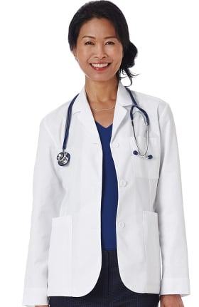 "Clearance META Labwear Women's Consultation 28"" Lab Coat"