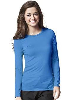 Layers by WonderWink Women's Silky Long Sleeve Underscrub
