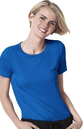 Layers by WonderWink Women's Silky Short Sleeve T-Shirt