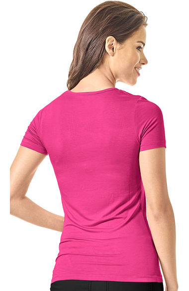 83970f1a Layers by WonderWink Women's Silky Short Sleeve T-Shirt | allheart.com
