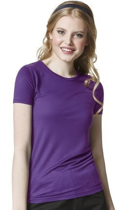 Clearance Layers by WonderWink Women's Silky Short Sleeve T-Shirt