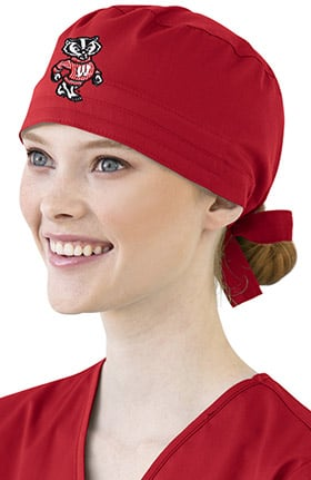 Collegiate by WonderWORK Unisex Back Closure Scrub Hat