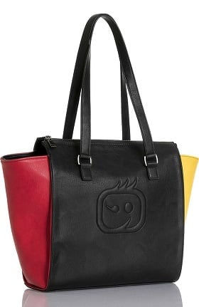 Clearance Accessories by WonderWink Women's Colorblock Tote Bag