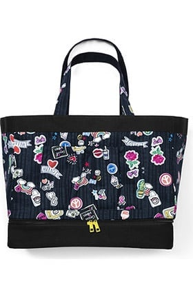 Clearance Accessories by WonderWink Women's Printed Canvas Tote
