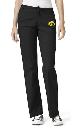 Collegiate by WonderWORK Women's Flare Leg Scrub Pant