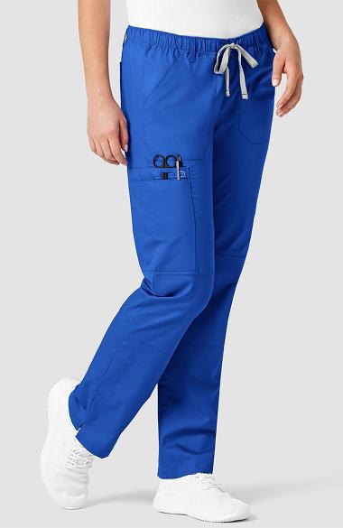 ca09464a2f32 WonderWORK Women s Straight Leg Cargo Scrub Pant. 1