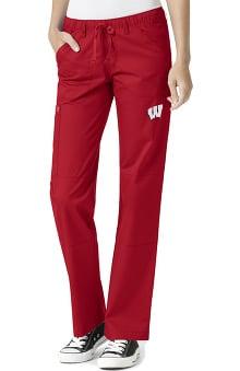 Collegiate by WonderWORK Women's Straight Leg Scrub Pant