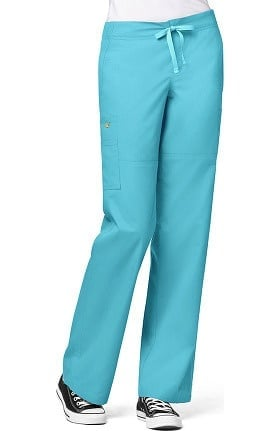 Clearance WonderFLEX by WonderWink Women's Stretch Cargo Scrub Pant