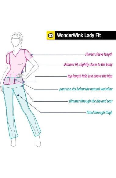 Black WonderWink Maternity Stretch 5445 Pant
