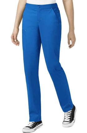 Clearance WonderFlex by WonderWink Women's Sky Zip Fly Trouser Scrub Pant