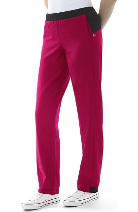 Four Stretch by WonderWink Women's Elastic Waist Jogger Scrub Pant