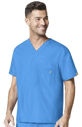 Clearance Origins by WonderWink Unisex V-Neck Solid Scrub Top