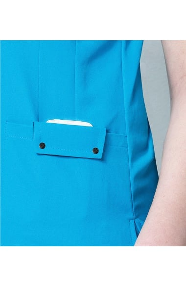 c56ebade187 Clearance Easy Fit by WonderWink Women's Contoured V-Neck Solid Scrub Top. 1