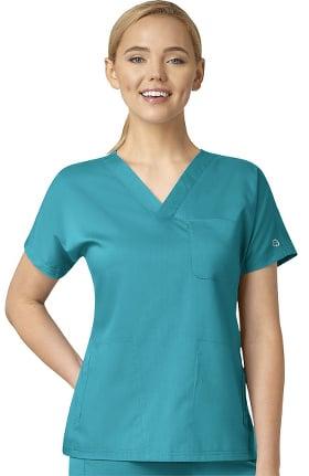 PRO by WonderWink Women's Dolman Sleeve Solid Scrub Top