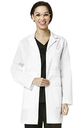 "Wonderlab by WonderWink Women's Basic 33"" Lab Coat"