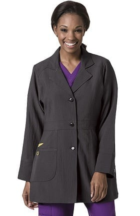 "Wonderlab by WonderWink Women's Ermance 32"" Lab Coat"