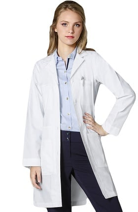 "Clearance Wonderlab by WonderWink Women's 40"" Professional Lab Coat"