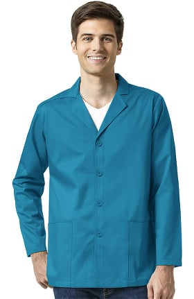 WonderWORK Men's Notch Lapel Solid Scrub Blazer Jacket