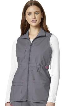 WonderFLEX by WonderWink Women's Serenity Solid Scrub Vest
