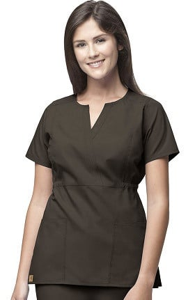 Clearance Carhartt Women's Fashion Waist Solid Scrub Top