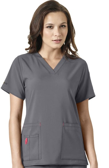 240c2be93ee Clearance Carhartt Women's Mock Wrap Solid Scrub Top. $14.99. Quick View