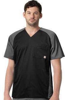 Liberty by Carhartt Men's Two Tone Raglan Sleeve Top
