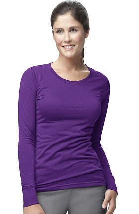 b8da87038f1 Women's Medical Shirts, Tees & Underscrubs - Long & Short Sleeve Shirts