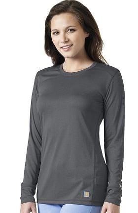 CROSS-FLEX by Carhartt Women's FORCE Long Sleeve FORCE T-Shirt
