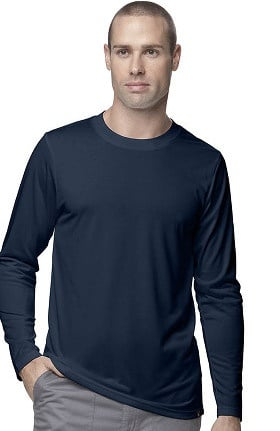 CROSS-FLEX by Carhartt Men's FORCE Work-Dry Solid Underscrub T-Shirt
