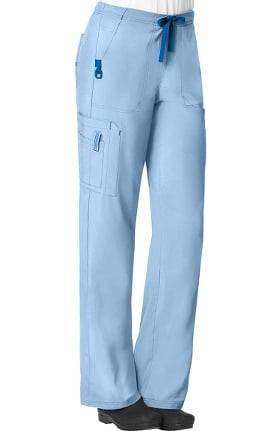 Clearance CROSS-FLEX by Carhartt Women's FORCE Boot Cut Cargo Scrub Pant
