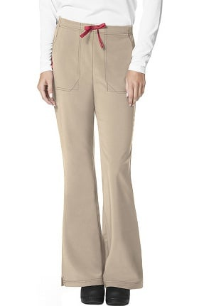 CROSS-FLEX by Carhartt Women's FORCE® Flat Front Flare Leg Scrub Pant