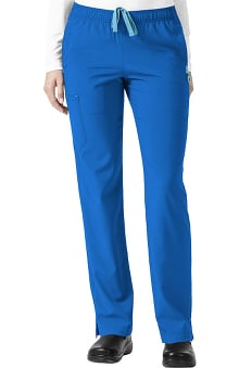 CROSS-FLEX by Carhartt Women's FORCE Slim Drawstring Elastic Cargo Scrub Pant