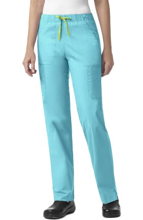 Signature Collection by Vera Bradley Women's Florence Drawstring Cargo Scrub Pant